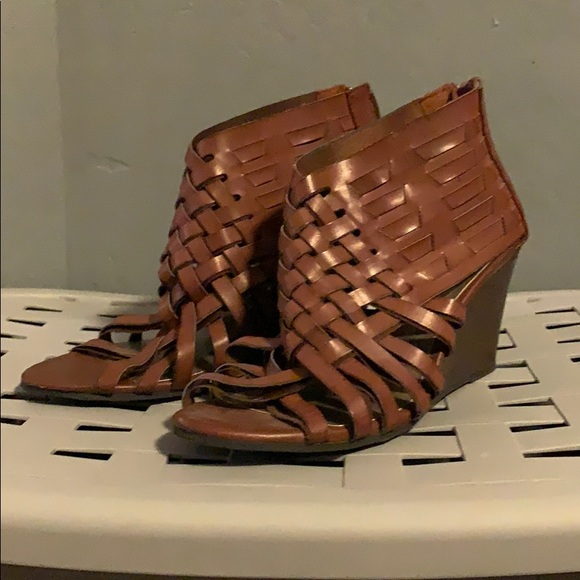 American Eagle Outfitters Shoes - Wicker Wedge